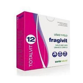 Totalvit 12 Fragivit Negle og Hår 28 tabletter