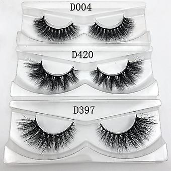 Handmade, Dramatic, Thick And 3d Eyelashes