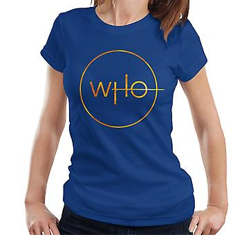 T-shirt Doctor Who Insignia feminino