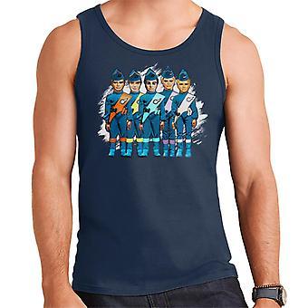 Thunderbirds International Rescue Team Men's Vest