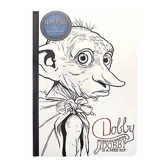 Harry Potter Notebook Dobby is a Free Elf new Official White 240 Pages A5