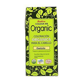 Color Me Organic Chestnut Bio 100 g (Maroon)