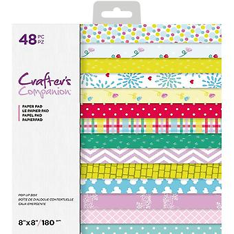 Crafter's Companion Pop Up Boxes 8x8 Inch Paper Pad