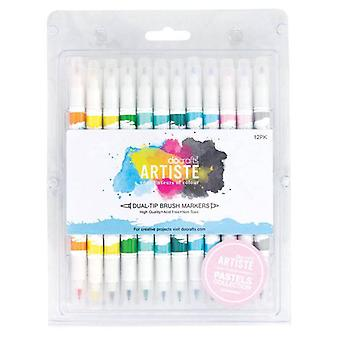 Docrafts Artiste Harja markers (12pk) Pastelli (DOA 851102)