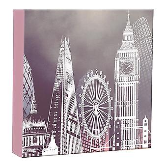 Home Collection Metallic London Landmarks Slip In Photo Album 200 Photos 4x6