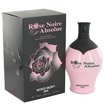 Rose Noire Absolue Eau De Parfum Spray By Giorgio Valenti
