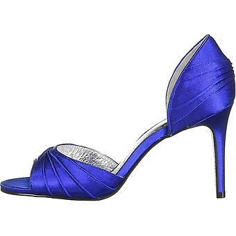 Adrianna Papell Mujeres's Zapatos APRIL Satin Open Toe D-orsay Pumps