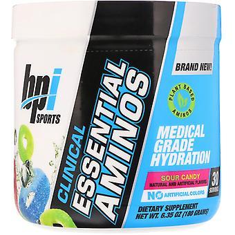 BPI Sports, Clinical Essential Aminos, Sour Candy, 6.35 oz (180 g)