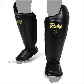 Fairtex sp8 ultime protège-tibias - noir et or
