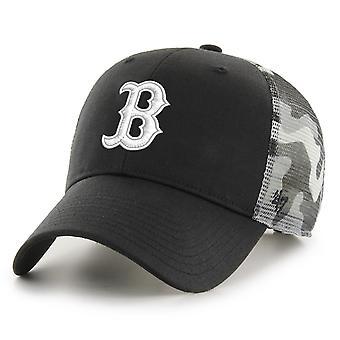 47 Brand Trucker Cap - SWITCH Boston Red Sox snow camo