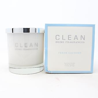 Clean Fresh Laundry Scented Candle  7.5oz/212g New With Box