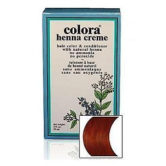 Colora Henna Creme - 100% Organic hair colour - Auburn