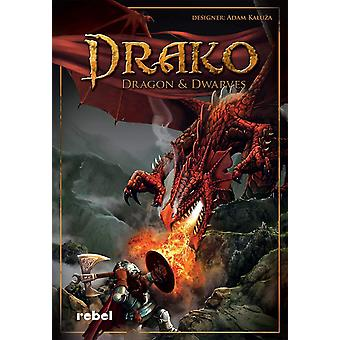 Drako Dragons and Dwarves Board Game