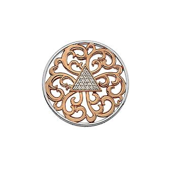 Emozioni Rose Gold Plated Cleopatra 33mm Coin EC469