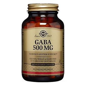 Solgar GABA 500 mg, 100 V Caps