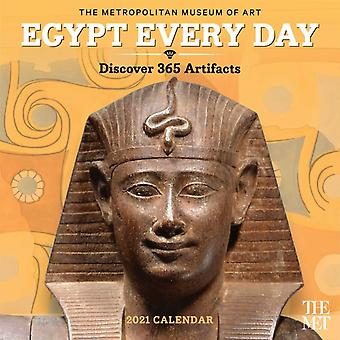 Egypt Every Day 2021 Wall Calendar by The Metropolitan Museum of Art