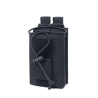 Nylon Outdoor Pouch, Tactical Sports Pendant, Military Radio Walkie Talkie