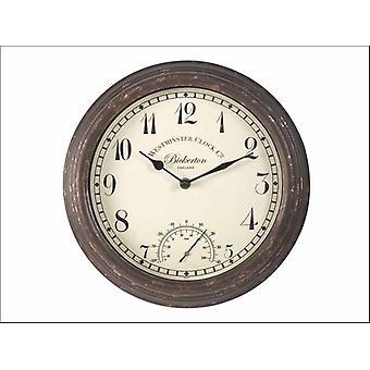 Smart Solar Bickerton Wall Clock + Thermomètre 12in 5060000