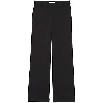 Vinden. Standaard Women's Wide Leg Pants, Black EU L (US 10)