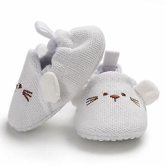 Graziose scarpe da culla con suola morbida per neonati