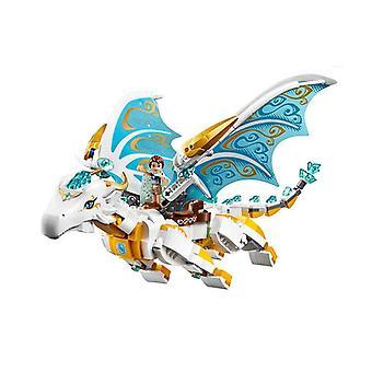 Queen Dragon's Rescue Compatible Lepinngl Friends, Buildin Blocks