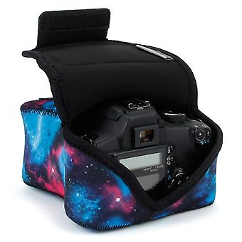 Usa gear dslr kamera laukku digitaalikamera neopreeni suojaus, kotelo vyö silmukka ja accessor wom24553