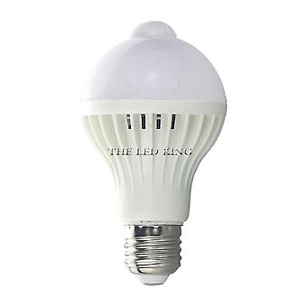 Led Pir Motion Sensor Lamp, Automatic On/off Bulb, Light Sensitive, Human Body