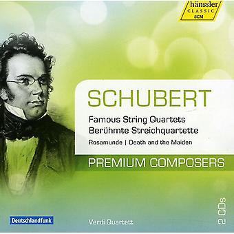 F. Schubert - Schubert: Famous String Quartets [CD] USA import