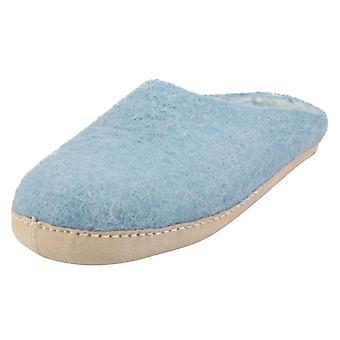 egos copenhagen Unisex Slippers Shoes in Light Blue