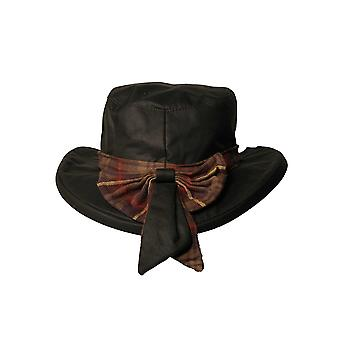 Walker and Hawkes - Ladies Thelma Bow Hat With Tartan Trim
