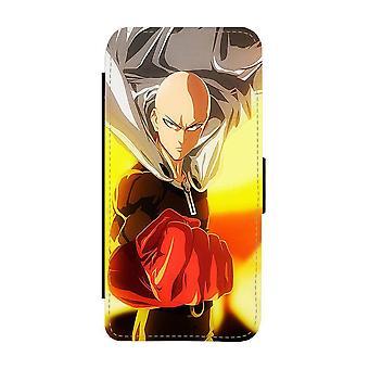 Manga One Punch Man Saitama iPhone 12 / iPhone 12 Pro Custodia portafoglio