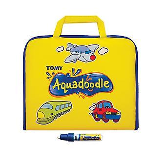 Aquadoodle colore doodle bag viaggio acqua doodle mat, ufficiale tomy no mess colorazione e gioco di disegno
