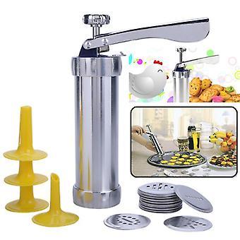 Biscuit Press Set tort Machine, inclusiv designer 20pcs