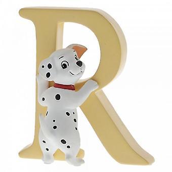 Letter R Rolly (101 Dalmatians) Figurine