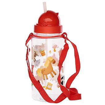 Fun bramley bunch farm design 450ml bouteille d'eau pour enfants