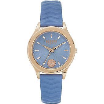 Versus by Versace Women's Watch Wristwatch MOUNT PLEASANT VSP561318 Leather
