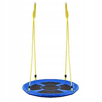 Nestschaukel - 110 cm - Blaue + gelbe Seile