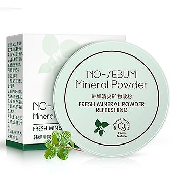 Delicate Light Mineral Loose Powder, Oil-control Natural Fixed Makeup