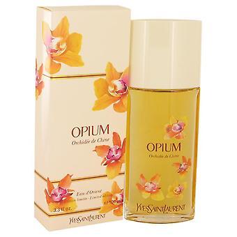 Opium Eau D'orient Orchidee De Chine Eau De Toilette Spray By Yves Saint Laurent 3.3 oz Eau De Toilette Spray