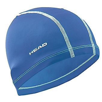 HEAD Nylon/Spandex aikuisten uinti Cap-kuninkaallinen sininen