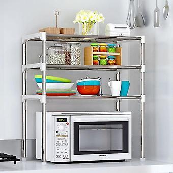 Kitchen shelf organiser rack