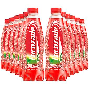 12x900ml Lucozade Energy Watermelon&Strawberry SugarFree Sparkling Energy Drink