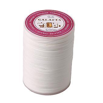Biały 0,6 mm Dia Roll Wax Line Swing Thread Woskowany sznur do produkcji rzemiosła