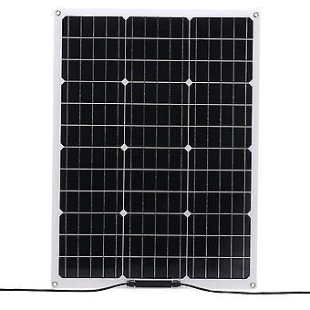 Flexibles monokristallines Solarpanel 18v 20w