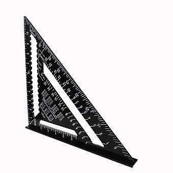 Triangle Ruler Angle Protractor-speed Metric/Imperial Square Measuring Ruler