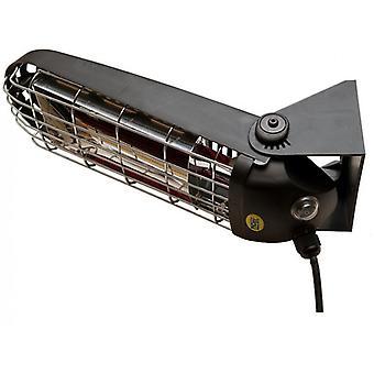 Lucciola 1200 Watt infraröd värmare med väggfäste IP65