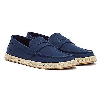 TOMS Stanford Köysi kudottu miesten laivaston kengät