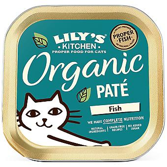 Lily's Kitchen Organic Fish Dinner for Cats (Cats , Cat Food , Wet Food)