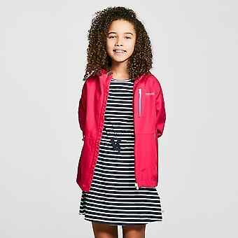 New Regatta Girls' Calderdale II Waterproof Jacket Pink