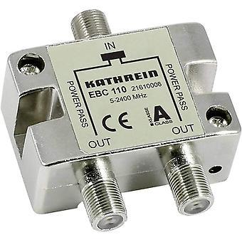 FengChun EBC 110 Kabelsplitter Silber - Kabelspalter oder -kombinatoren (Kabelsplitter, 5-2400 MHz,